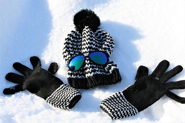 Okulary na zimową porę